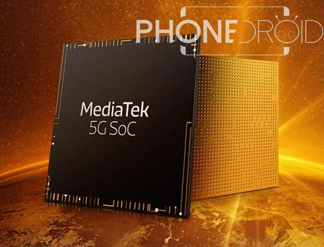 Mediatek MT6885 5G : de retour dans les hautes sphères!