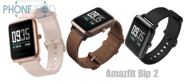 Amazfit Bip 2 : remise à niveau avec suivi ECG