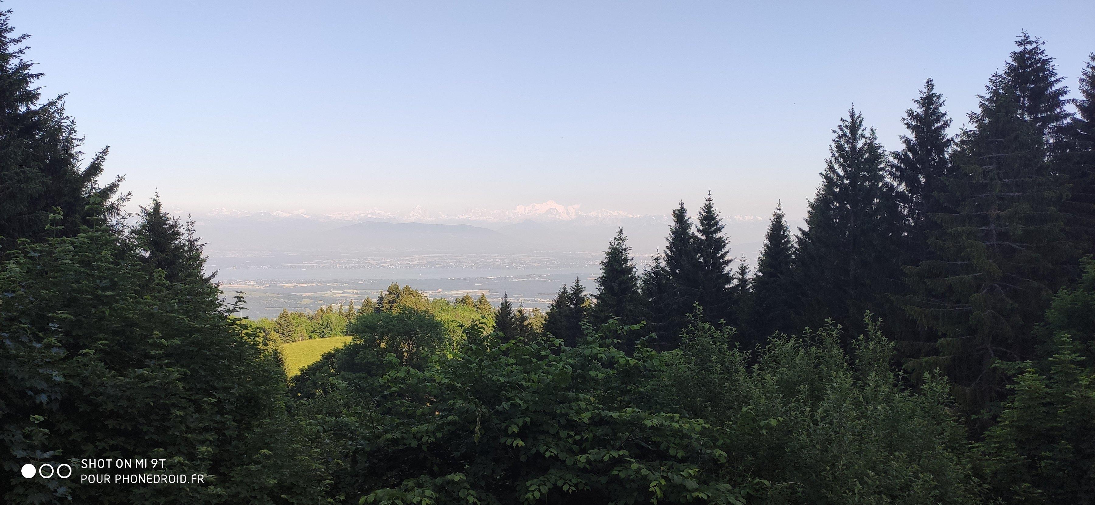 Mont Blanc photo normale