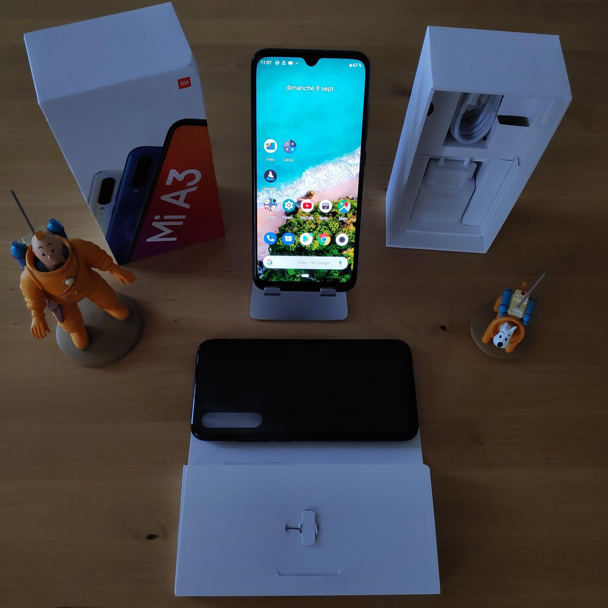 Unboxing Xiaomi MI A3