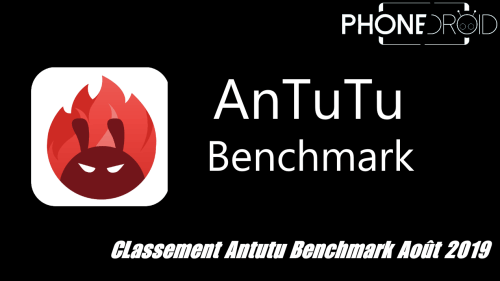 Classement Antutu Benchmark Août 2019