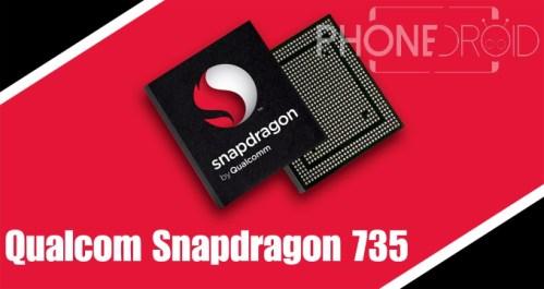 Qualcomm Snapdragon 735 :  mise à niveau du Snapdragon 730