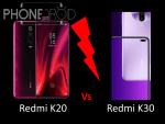 Redmi K20 (Xiaomi Mi9 T) Vs Redmi K30