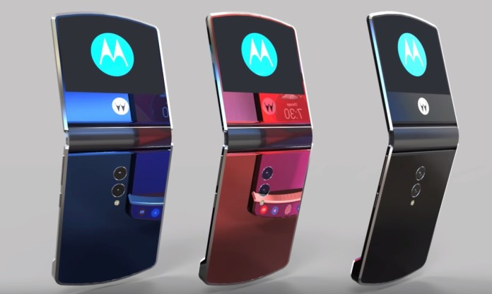 Motorola RAZR 2019 foldable phone breaking news