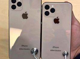 Apple iPhone 11 and iPhone 11 Max renders based on leaked schematics show the polarising new camera design (Ben Geskin) BEN GESKIN