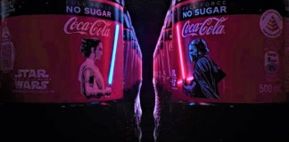 First Flexible OLED coca cola