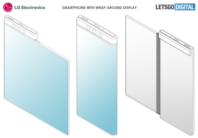 LG Patents Smartphone With A Flexible, Wrap-Around Display