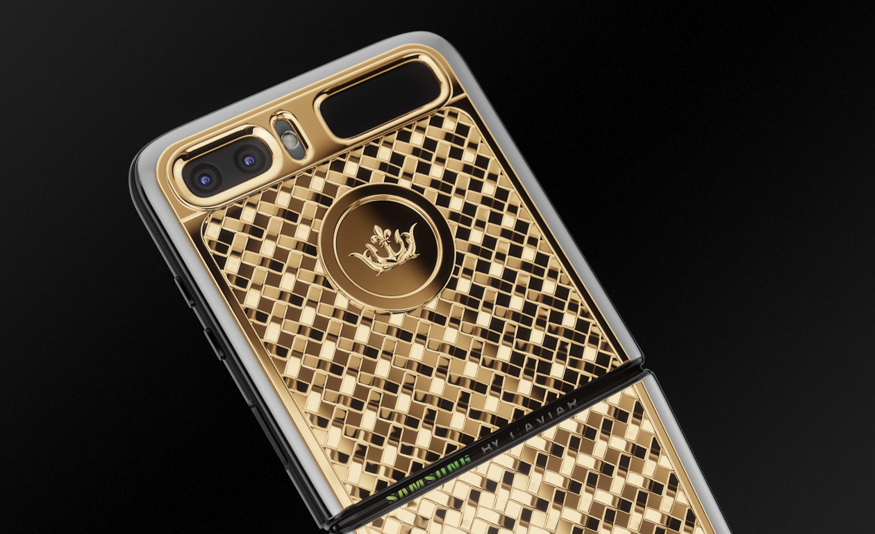 Caviar Z FLIP GOLD shop