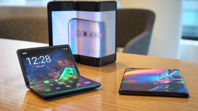 Rollable, foldable, flexible phones