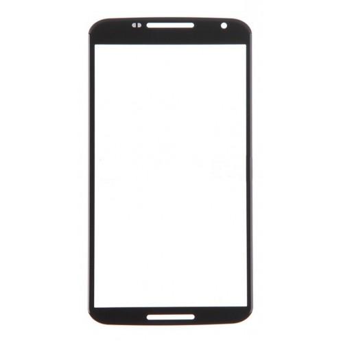 Motorola Nexus 6 Front Screen Glass Lens (Black)