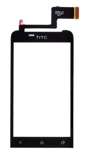 HTC One V Screen Glass Digitizer (Black, Original)