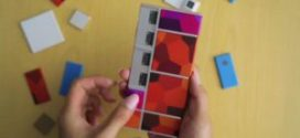 Premier prototype du smartphone modulable Projet ARA