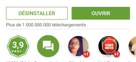 Facebook Messenger atteint le milliard de téléchargements