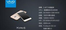 Vivo Xplay 6 dévoilé avec un écran incurvé, une puce Snapdragon 820 et 6 Go de RAM