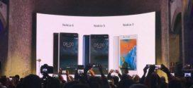 Nokia annonce les Nokia 6, Nokia 3 et Nokia 5