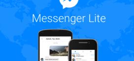 Facebook Messenger Lite passe la barre des 100 millions de téléchargements sur le Play Store