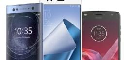 Comparatif : Xperia XA2 Ultra vs ZenFone 4 vs Moto Z2 Play
