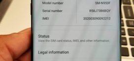 Galaxy Note 8 Oréo : La mise à jour de la phablette atterrit chez un utilisateur