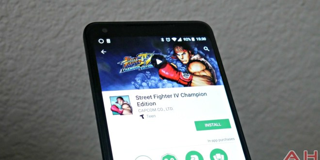 Street Fighter IV Champion Edition désormais disponible sur Android