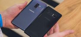 Duel au sommet : Samsung Galaxy S9+ vs Galaxy Note 8