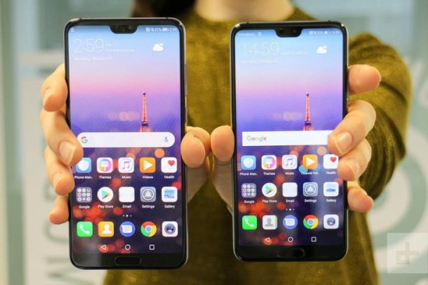 Huawei P20 vs Huawei P20 Pro