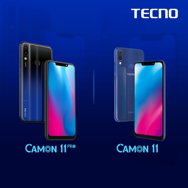 Tecno Camon 11 Pro et Camon 11