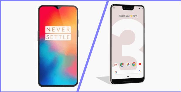 OnePlus 6T vs Google Pixel 3