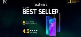 Realme 3 : Plus de 500 000 unités du mobile vendu en 3 semaines