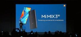 Xiaomi Mi Mix 3 5G – fiche technique, caractéristiques et prix