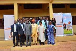 Benin: inauguration de 3 salles de classe entièrement équipées à l'école primaire publique Ahossougbéta de Togba don deBanque Atlantique