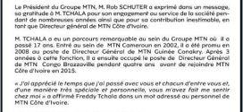 MTN Côte d'Ivoire : Démission du DG M. Freddy Tchala