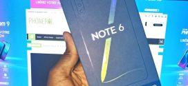 Infinix Note 6: #Unboxing – Déballage du mobile et premières impressions
