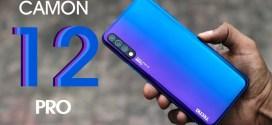 Tecno Camon 12 Pro : fiche technique, caractéristiques et prix