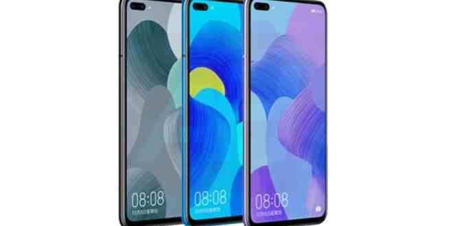 Huawei Nova 6 :Spécifications avant le lancement du smartphone ce5 décembre
