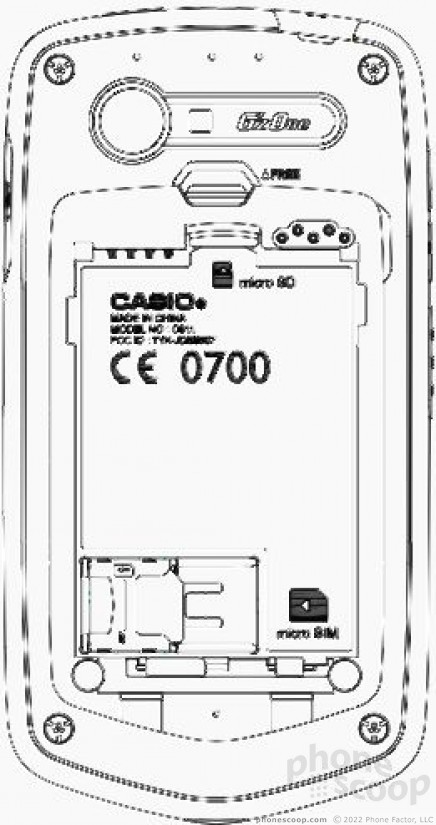 FCC Outs Casio G'zOne Smartphone for Verizon (Phone Scoop)