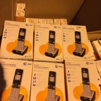 2 x AT&T TL86003 2 Line Connect-To-Cell Caller IDWaiting ID Handset for TL86103 2