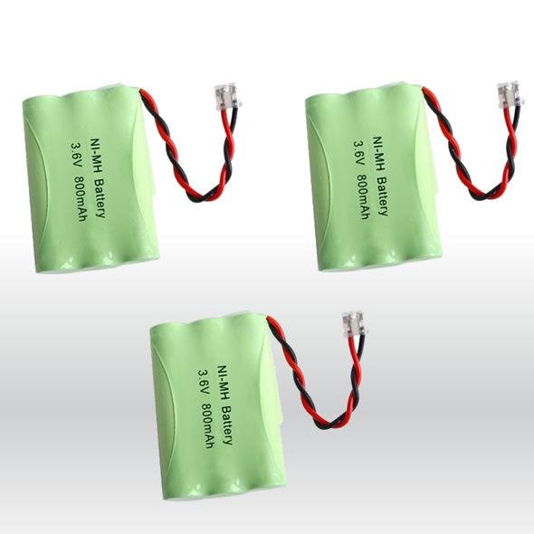 3 NiMH 3.6V Battery For Bell South TL6502 TL-6502 Empire CPH-488B CPH4 bg