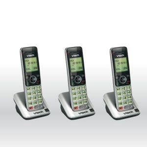 3 Vtech DECT 6.0 CS6609 Accessory Handset for Vtech CS6619 CS6629 CS6648 CS6649 bg