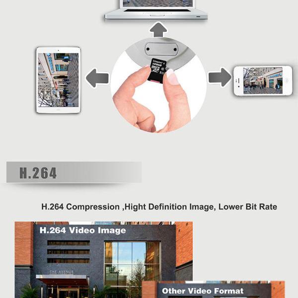 3 x HD Waterproof BUILT-IN RECORD Onvif 2.4.2 WiFi IP Day Night Security Camera 4
