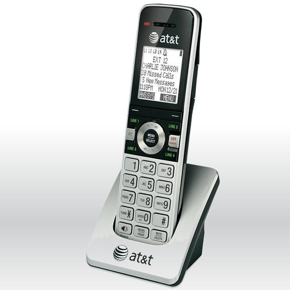 AT&T MS2025 Dect 6.0 4 Line Expansion Handset for MS2015, MS2085 bg