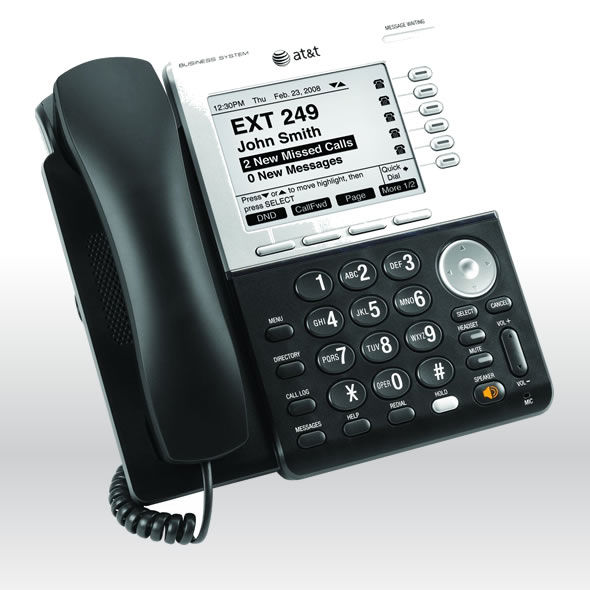 AT&T Synapse SB67030 SB67031 Business Phone with DECT 6.0 and Large Display bg