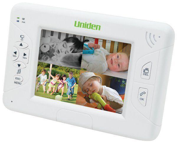 NEW Uniden UBW2101 3.5 Inch Color LCD NIGHT VISION 2.4GHz Wireless Baby Monitor 2
