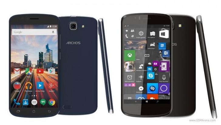Archos unveils three new smartphones, one runs Windows 10