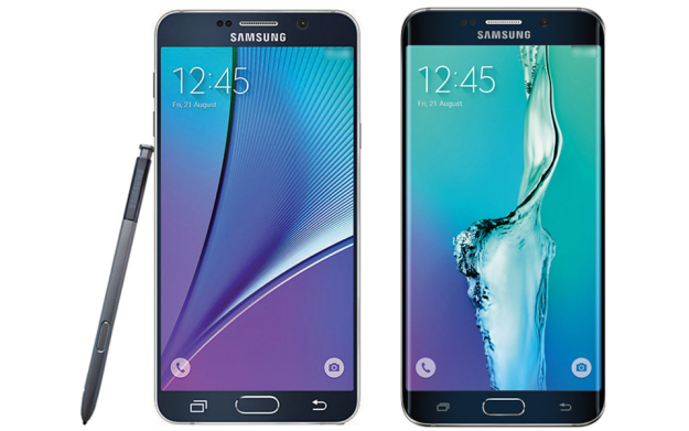 Samsung Galaxy Note 5 and Galaxy S6 edge plus full specs