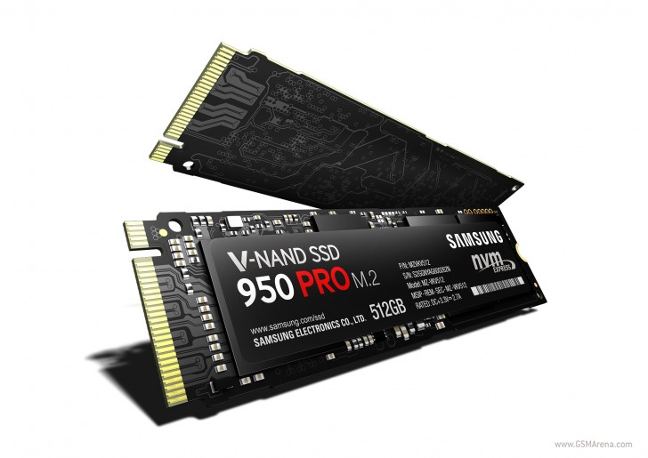 Samsung announces ultra fast 950 Pro SSD