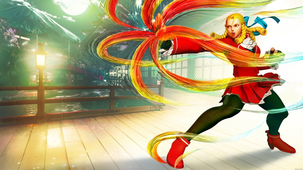 Karin Street Fighter V reveal