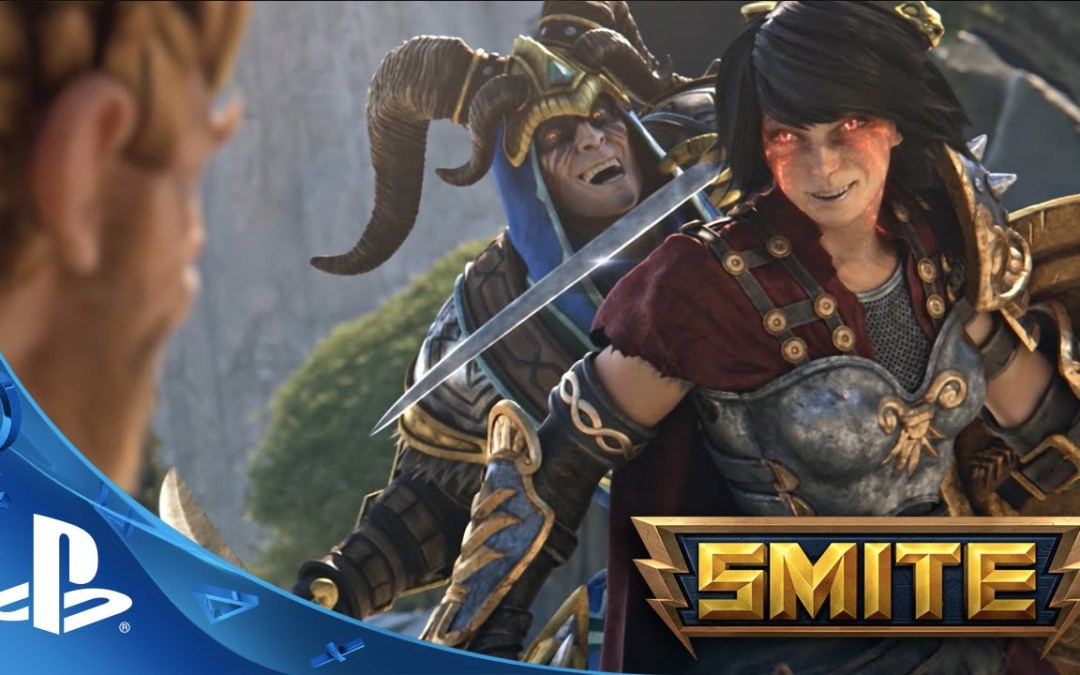 SMITE Lands PS4 Launch Trailer