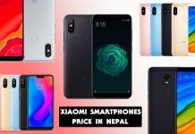 Xiaomi smartphones price in Nepal-phones-in-nepal