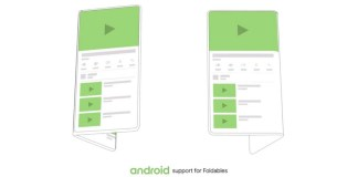 Google foldable Android Device