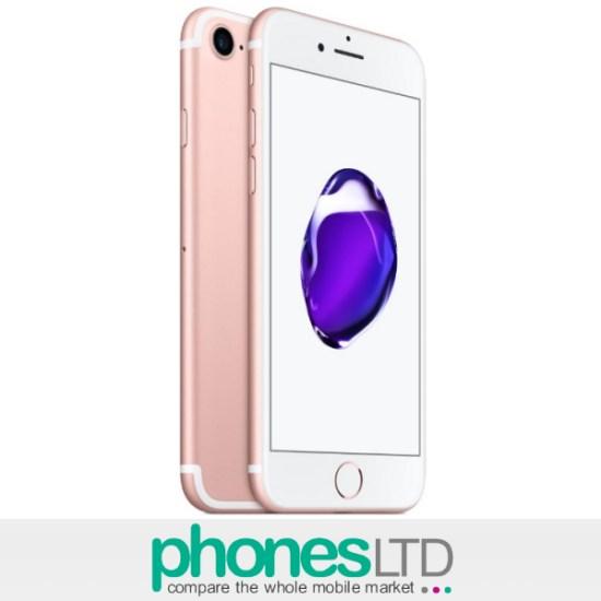 Apple IPhone 7 Rose Gold 32GB Deals